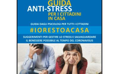Covid19: Guida anti-stress per i cittadini in casa